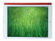 Ein iPad Air mit eingeschaltetem Display