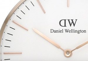 Ziffernblatt Daniel Wellington Uhr im Detail
