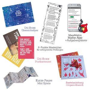 Geschenk für Studenten zur Lernmotivation in Studium & Prüfungszeit - Eine nahaufnahme von text auf einem weißen hintergrund - Geschenk