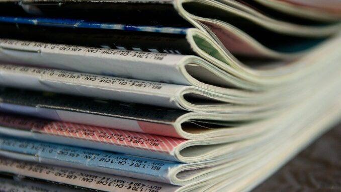Einige Zeitschriften für Studenten