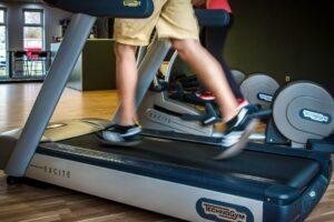 Fitness auf Laufband