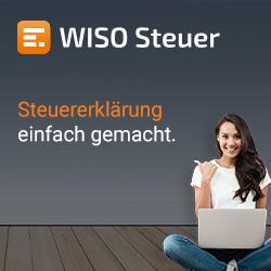 Steuerprogramm von Wiso