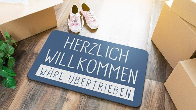 Fußmatte für Studenten WG